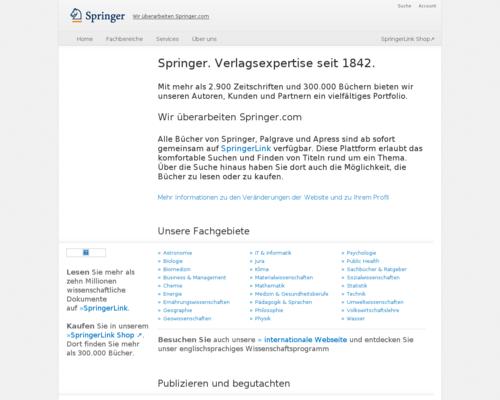 Springer Gutschein